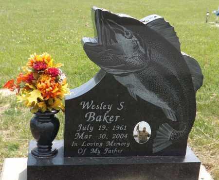 BAKER, WESLEY S. - Douglas County, Nebraska | WESLEY S. BAKER - Nebraska Gravestone Photos