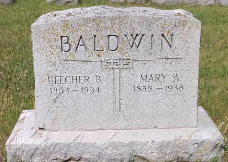 BALDWIN, BEECHER B. - Douglas County, Nebraska | BEECHER B. BALDWIN - Nebraska Gravestone Photos