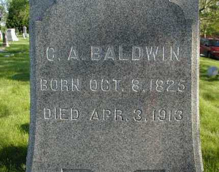 BALDWIN, C. A. - Douglas County, Nebraska   C. A. BALDWIN - Nebraska Gravestone Photos