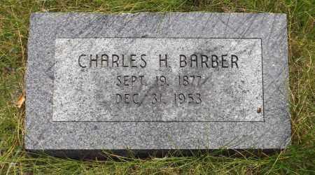 BARBER, CHARLES H. - Douglas County, Nebraska   CHARLES H. BARBER - Nebraska Gravestone Photos