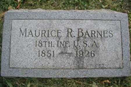BARNES, MAURICE RAY - Douglas County, Nebraska | MAURICE RAY BARNES - Nebraska Gravestone Photos
