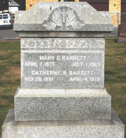 BARRETT, MARY C - Douglas County, Nebraska | MARY C BARRETT - Nebraska Gravestone Photos