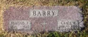BARRY, EDMOND P. - Douglas County, Nebraska | EDMOND P. BARRY - Nebraska Gravestone Photos