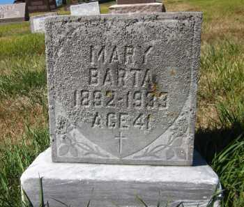 BARTA, MARY - Douglas County, Nebraska   MARY BARTA - Nebraska Gravestone Photos
