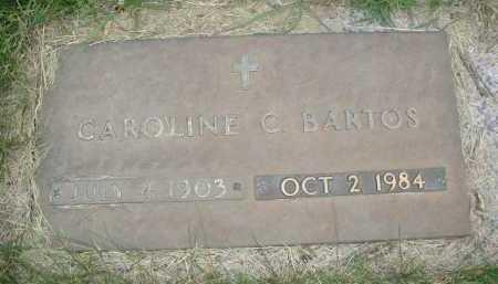 BARTOS, CAROLINE C - Douglas County, Nebraska   CAROLINE C BARTOS - Nebraska Gravestone Photos