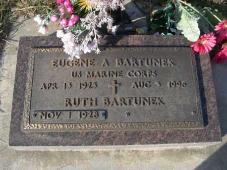 BARTUNEK, RUTH - Douglas County, Nebraska | RUTH BARTUNEK - Nebraska Gravestone Photos