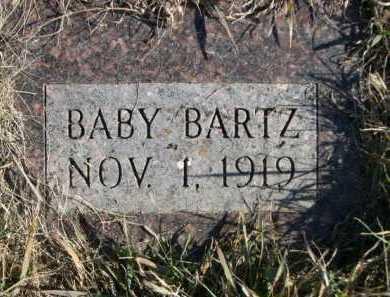 BARTZ, BABY - Douglas County, Nebraska   BABY BARTZ - Nebraska Gravestone Photos