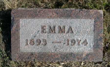 BARTZ, EMMA - Douglas County, Nebraska | EMMA BARTZ - Nebraska Gravestone Photos