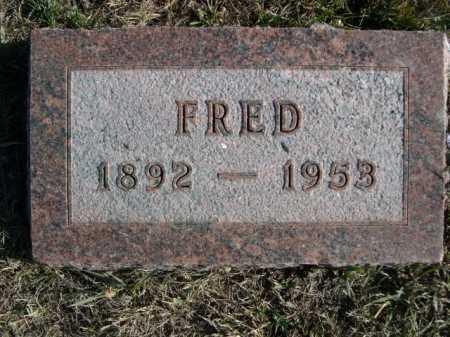 BARTZ, FRED - Douglas County, Nebraska | FRED BARTZ - Nebraska Gravestone Photos