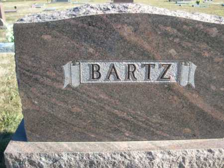 BARTZ, FAMILY - Douglas County, Nebraska | FAMILY BARTZ - Nebraska Gravestone Photos