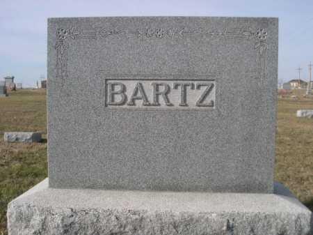 BARTZ, FAMILY - Douglas County, Nebraska   FAMILY BARTZ - Nebraska Gravestone Photos
