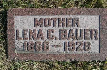 BAUER, LENA C. - Douglas County, Nebraska | LENA C. BAUER - Nebraska Gravestone Photos