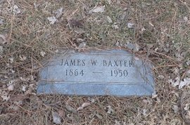 BAXTER, JAMES W. - Douglas County, Nebraska | JAMES W. BAXTER - Nebraska Gravestone Photos