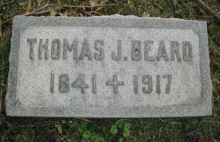 BEARD, THOMAS J. - Douglas County, Nebraska | THOMAS J. BEARD - Nebraska Gravestone Photos