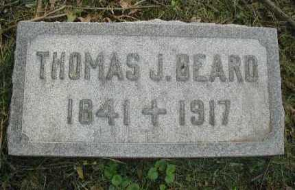 BEARD, THOMAS J. - Douglas County, Nebraska | THOMAS J. BEARD - Nebraska Gravestone Photos