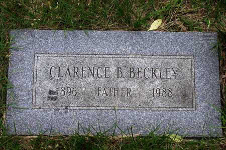 BECKLEY, CLARENCE B. - Douglas County, Nebraska | CLARENCE B. BECKLEY - Nebraska Gravestone Photos