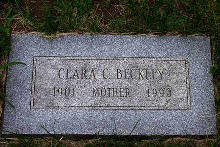 BECKLEY, CLARA C. - Douglas County, Nebraska | CLARA C. BECKLEY - Nebraska Gravestone Photos