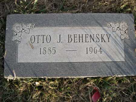 BEHENSKY, OTTO J. - Douglas County, Nebraska   OTTO J. BEHENSKY - Nebraska Gravestone Photos