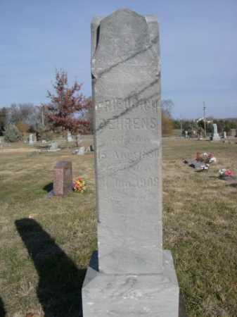 BEHRENS, FRIEDRICH - Douglas County, Nebraska | FRIEDRICH BEHRENS - Nebraska Gravestone Photos