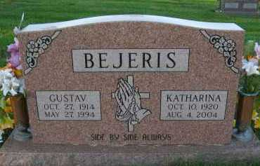 BEJERIS, GUSTAV - Douglas County, Nebraska | GUSTAV BEJERIS - Nebraska Gravestone Photos