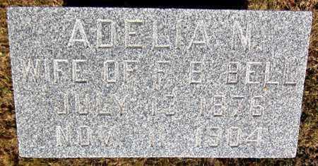 BELL, ADELIA N - Douglas County, Nebraska   ADELIA N BELL - Nebraska Gravestone Photos