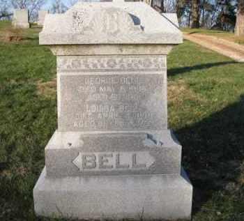 BELL, GEORGE - Douglas County, Nebraska | GEORGE BELL - Nebraska Gravestone Photos