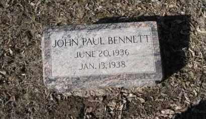 BENNETT, JOHN PAUL - Douglas County, Nebraska   JOHN PAUL BENNETT - Nebraska Gravestone Photos