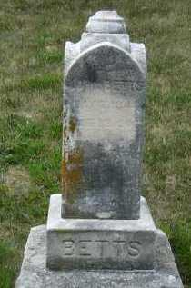 BETTS, JOHN - Douglas County, Nebraska | JOHN BETTS - Nebraska Gravestone Photos