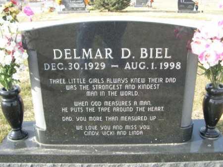 BIEL, DELMAR D. - Douglas County, Nebraska   DELMAR D. BIEL - Nebraska Gravestone Photos