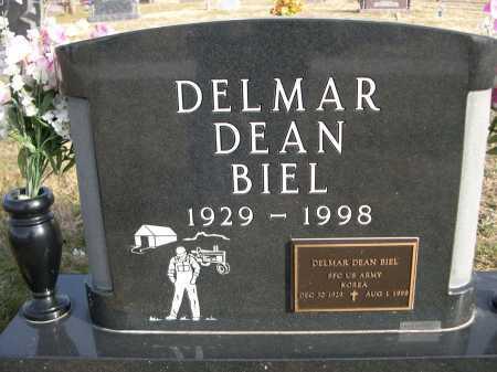 BIEL, DELMAR DEAN - Douglas County, Nebraska | DELMAR DEAN BIEL - Nebraska Gravestone Photos