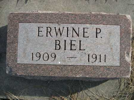 BIEL, ERWINE P. - Douglas County, Nebraska   ERWINE P. BIEL - Nebraska Gravestone Photos