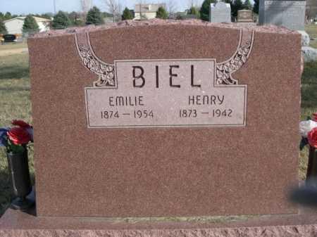 BIEL, HENRY - Douglas County, Nebraska | HENRY BIEL - Nebraska Gravestone Photos