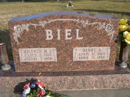 BIEL, HENRY A. - Douglas County, Nebraska | HENRY A. BIEL - Nebraska Gravestone Photos