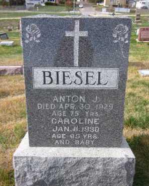 BIESEL, CAROLINE - Douglas County, Nebraska | CAROLINE BIESEL - Nebraska Gravestone Photos