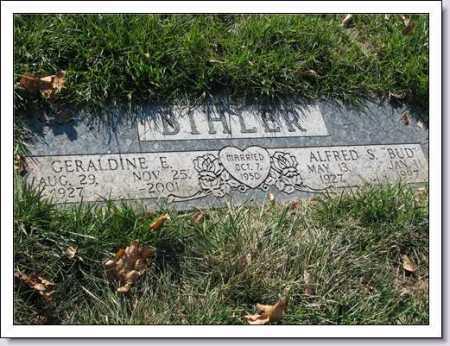 BIHLER, ALFRED S. (BUD) - Douglas County, Nebraska | ALFRED S. (BUD) BIHLER - Nebraska Gravestone Photos