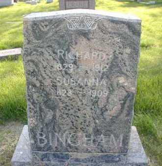 BINGHAM, SUSANNA - Douglas County, Nebraska | SUSANNA BINGHAM - Nebraska Gravestone Photos