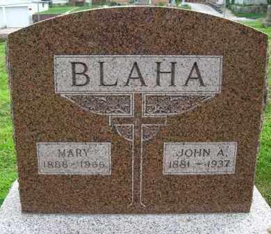 BLAHA, MARY - Douglas County, Nebraska | MARY BLAHA - Nebraska Gravestone Photos