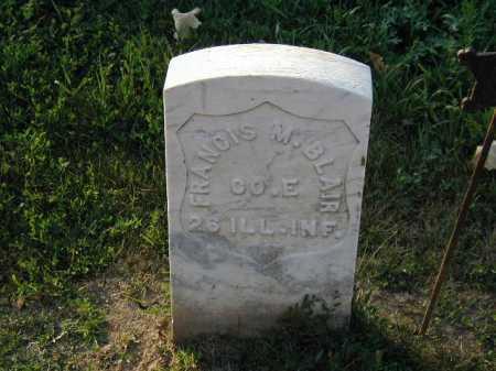 BLAIN, FRANCIS M - Douglas County, Nebraska   FRANCIS M BLAIN - Nebraska Gravestone Photos