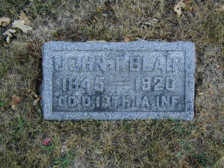BLAIR, JOHN T - Douglas County, Nebraska | JOHN T BLAIR - Nebraska Gravestone Photos