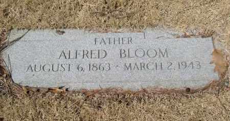 BLOOM, ALFRED - Douglas County, Nebraska   ALFRED BLOOM - Nebraska Gravestone Photos
