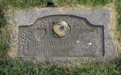 BLOWERS, ROY W. - Douglas County, Nebraska   ROY W. BLOWERS - Nebraska Gravestone Photos