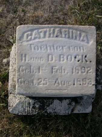 BOCK, CATHARINA - Douglas County, Nebraska   CATHARINA BOCK - Nebraska Gravestone Photos
