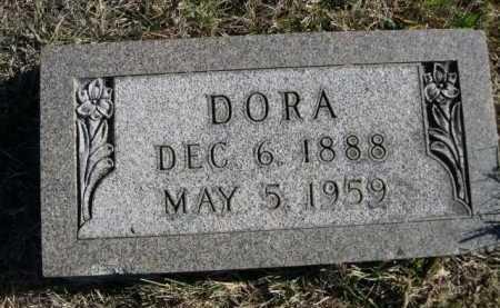 BOCK, DORA - Douglas County, Nebraska | DORA BOCK - Nebraska Gravestone Photos