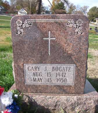 BOGATZ, GARY J. - Douglas County, Nebraska | GARY J. BOGATZ - Nebraska Gravestone Photos