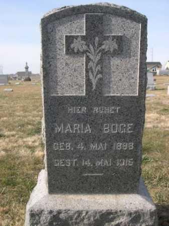 BOGE, MARIA - Douglas County, Nebraska | MARIA BOGE - Nebraska Gravestone Photos