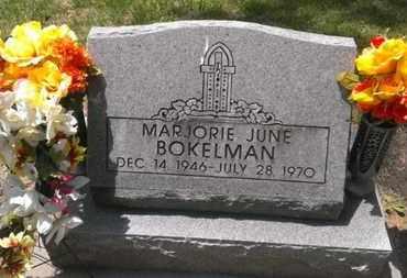 BOKELMAN, MARJORIE - Douglas County, Nebraska | MARJORIE BOKELMAN - Nebraska Gravestone Photos