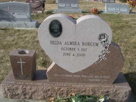 BORGUM, HILDA ALMIRA - Douglas County, Nebraska | HILDA ALMIRA BORGUM - Nebraska Gravestone Photos
