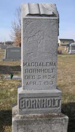 BORNHOLT, MAGDALENA - Douglas County, Nebraska | MAGDALENA BORNHOLT - Nebraska Gravestone Photos