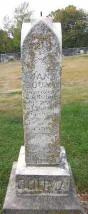 BOUMA, JAN - Douglas County, Nebraska | JAN BOUMA - Nebraska Gravestone Photos