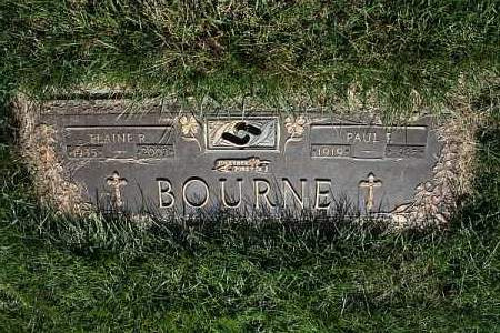 BOURNE, PAUL F. - Douglas County, Nebraska | PAUL F. BOURNE - Nebraska Gravestone Photos